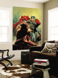 Thor No.5 Cover: Thor Wall Mural by Olivier Coipel