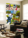 X-Men 50 Group: Cyclops, Angel, Beast, Grey, Jean, X-Men and Marvel Girl Wall Mural by Jim Steranko