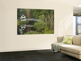 White Footbridge, Somesville, Mount Desert Island, Maine, USA Wall Mural by Adam Jones