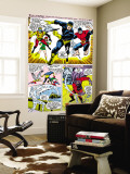 X-Men 43 Group: Cyclops, Beast, Angel, Iceman, Magneto, X-Men and Marvel Girl Wall Mural by George Tuska