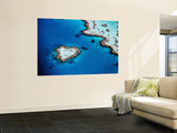 Heart-Shaped Reef, Hardy Reef, Near Whitsunday Islands, Great Barrier Reef, Queensland, Australia Wall Mural by Holger Leue