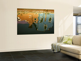 Reflections in a Burano Cana Wall Mural by Dennis Walton