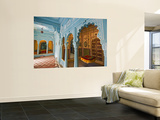 Traditional Seating and Swing in Womens Quarters of City Palace Wall Mural by Tim Makins