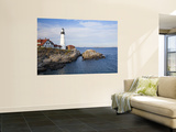 Portland Head Lighthouse Wall Mural by Gareth McCormack