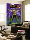 Hercules No.1 Cover: Hercules Wall Mural by Mark Texeira
