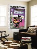 Marvel Milestones 3: Wolverine Cover: Wolverine Wall Mural by Walt Simonson