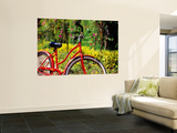 Red Bicycle, Half Moon Resort Wall Mural by Greg Johnston