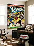Marvel Comics Retro: The X-Men Comic Book Cover #97, Havok, My Brother-My Enemy! (aged) Mural