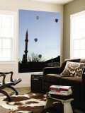 Early Morning Balloon Flights over Minerets Wall Mural by Mark Avellino