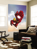 Marvel Adventures Iron Man 12 Cover: Iron Man Wall Mural