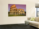 Visitors at the Colosseum Wall Mural by Glenn Beanland