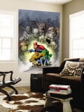 Marvel: Monsters On The Prowl No.1 Cover: Thing, Hulk, Beast and Giant Man Wall Mural