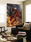 Iron Man: House Of M No.1 Cover: Iron Man Wall Mural by Pat Lee