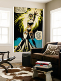 Marvel Comics Retro: X-Men Comic Panel, Storm (aged) Wall Mural