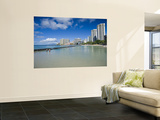 Kuhio Beach Wall Mural by Ann Cecil