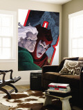 Avengers: Earths Mightiest Heroes No.7 Cover: Quicksilver and Scarlet Witch Wall Mural