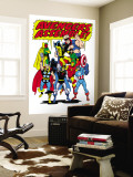Giant-Size Avengers/Invaders No.1 Group: Thor Premium Wall Mural by Sal Buscema