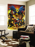 New Avengers 1 Cover: Captain America Wall Mural