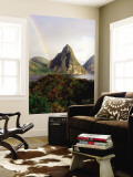 The Pitons Seen from Anse Chastanet Wall Mural by Holger Leue