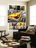 Ultimate Fantastic Four No.28 Group: Human Torch Wall Mural by Greg Land