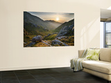 Ladhar Bheinn Mountain (In Background) from the East at Sunset, Knoydart Peninsula Wall Mural by Feargus Cooney