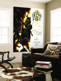 The Immortal Iron Fist No.14 Cover: Iron Fist Wall Mural by Kaare Andrews