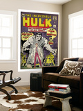 Marvel Comics Retro: The Incredible Hulk Comic Book Cover #1, with Bruce Banner (aged) Mural