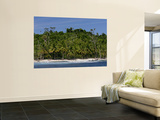 Heavily Palm-Tree Forested Mentawai Islands, Indonesia Wall Mural by Paul Kennedy