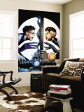 Ultimate Fantastic Four No.21 Cover: Mr. Fantastic Charging Wall Mural by Greg Land