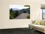 View from Kurama Dera, Kitayama Area Wall Mural by Greg Elms