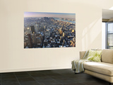 Manhattan from Empire State Building Wall Mural by Richard l'Anson