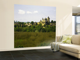 Chateau De Montfort with Grove of Walnut Trees in Foreground Wall Mural – Large par Barbara Van Zanten