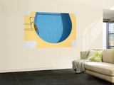 Swimming Pool Wall Mural by Richard Cummins