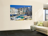 Old Harbour Wall Mural by Pamela Valente