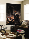 Ghost Rider 6 Cover: Ghost Rider Wall Mural by Clayton Crain
