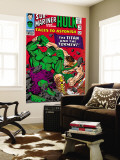 Tales To Astonish No.79 Cover: Hulk and Hercules Wall Mural by Reilly Brown