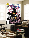 X-Men Classic No.45 Cover: Wolverine and Nightcrawler Fighting Wall Mural by Steve Lightle