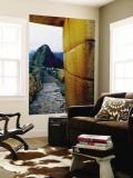 Huayna Picchu from Ruins Wall Mural by Ryan Fox
