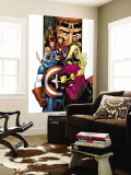 Avengers/Thunderbolts No.1 Cover: Baron Zemo, Captain America, Moonstone, Hawkeye, Wasp & Avengers Wall Mural by Barry Kitson