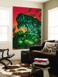 Marvel Age Hulk No.4 Cover: Hulk and Abomination Wall Mural by John Barber