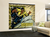 Marvel Comics Retro: Luke Cage, Hero for Hire Comic Panel (aged) Fototapete – groß