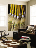 Brooms Made in Traditional Way from Millet, Tumut Broom Factory Wall Mural by Oliver Strewe