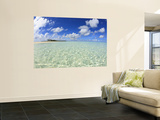 Kadhdhoo Island, Laamu Atoll, Southern Maldives, Indian Ocean Wall Mural by Stuart Westmorland