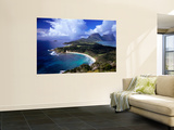 Overhead View of Coastline Wall Mural by Kerry Lorimer