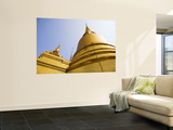 Grand Palace Gold Architectural Detail Wall Mural by Micah Wright