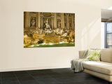 Trevi Fountain Wall Mural by Richard l&#39;Anson