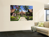 Central Courtyard National Museum Wall Mural by Neil Setchfield
