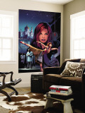 Black Widow No.4 Cover: Black Widow Wall Mural by Greg Land