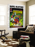 Marvel Milestones No.6 Cover: Captain Britain, Spider-Man and Red Skull Wall Mural by Jon Haward