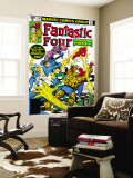 Fantastic Four No.218 Cover: Mr. Fantastic Wall Mural by Frank Miller